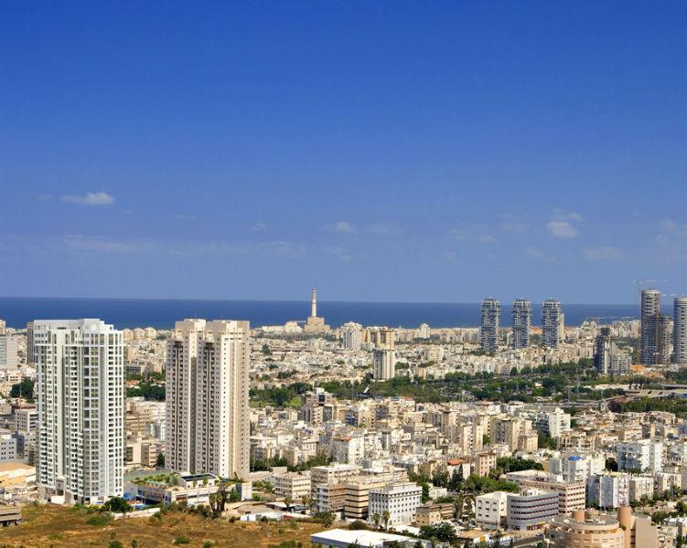 הנוף ממגדלי תל אביב