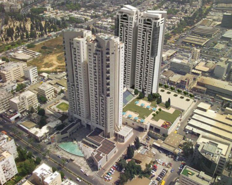 סביבת המגורים במגדלי תל אביב